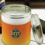 Свеча в виде баночки пива