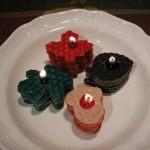 свечи в виде печенья