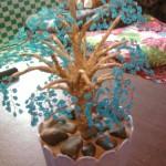 объёмное дерево из бисера