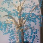 дерево из бисера крупно