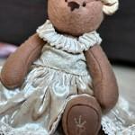 мишка в бархатном платье